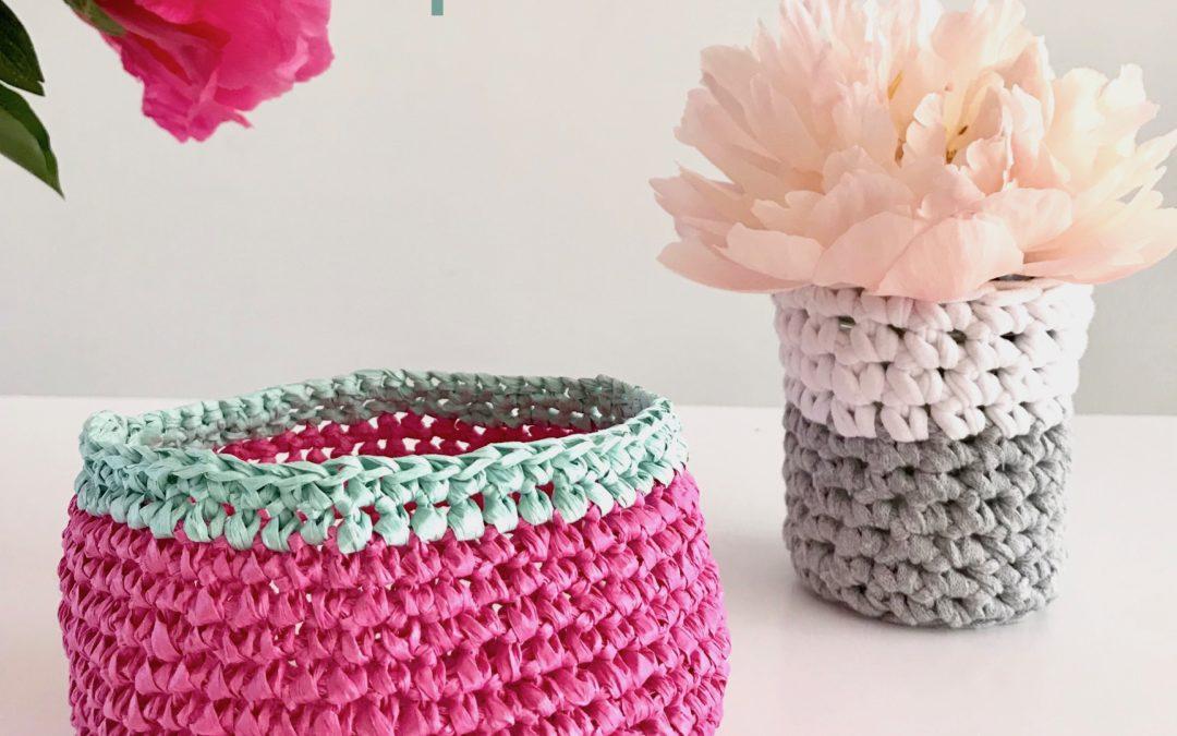 Atelier Crochet / Cache-pot