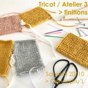 Atelier Tricot / intermédiaire @ Conceptu'L Boutique