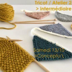 Atelier Tricot / débutants @ Conceptu'L Boutique