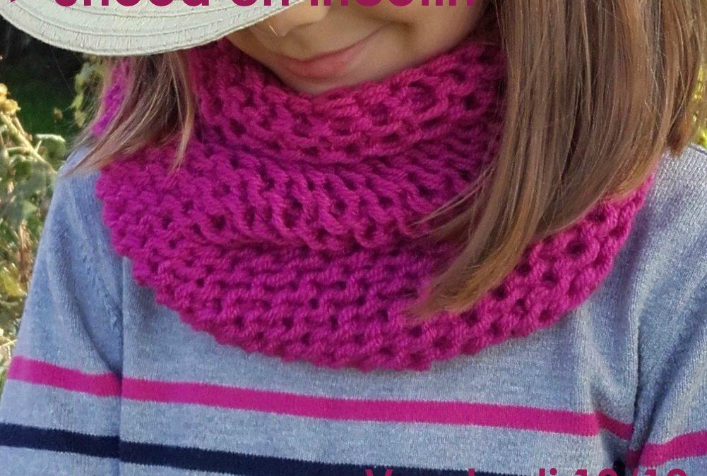 Atelier Kids / Snood en tricotin