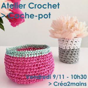 Initiation crochet @ Créa2mains