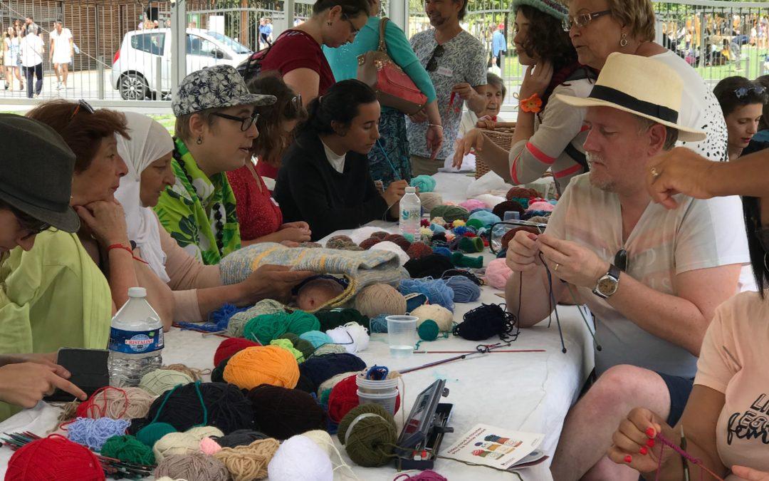 Retour sur la Journée Mondiale du Tricot 2019 à Nice